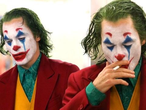 Joaquin Phoenix makes for a suitably creepy Joker as actor films scenes in Brooklyn subway