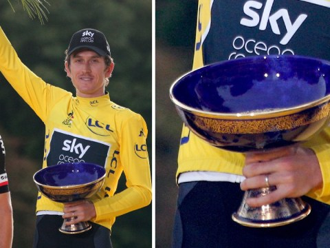 Tour de France trophy stolen while on display in the UK