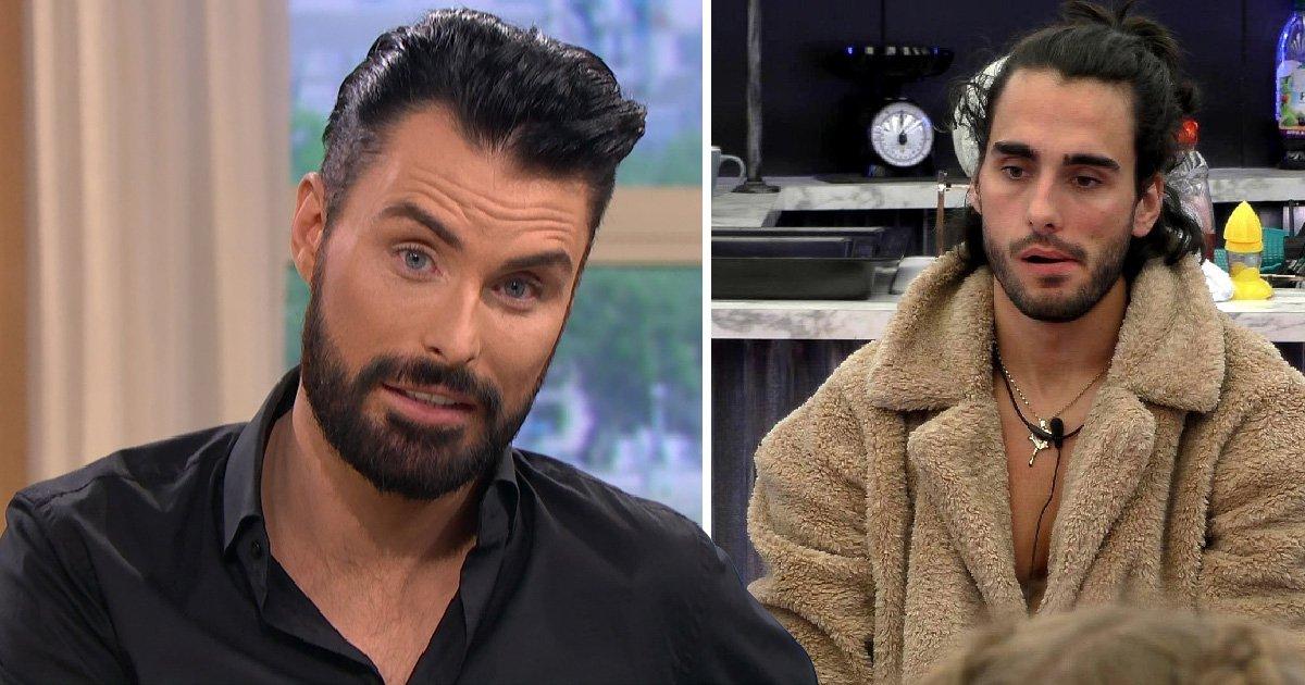 Rylan Clark-Neal denies he was 'mocking' Big Brother Lewis F's mental health