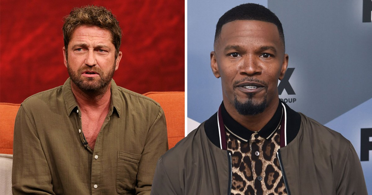 Gerard Butler has so much love for 'incredible' Jamie Foxx and it's bromance goals