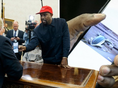 Kanye West wants Apple to build an iPlane for Trump