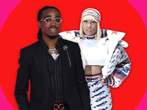 Migos rapper Quavo hints at Nicki Minaj romance amid Cardi B beef