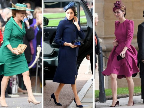 What did Meghan Markle, Kate Middleton and the rest of the Royal Family wear to Princess Eugenie's wedding?
