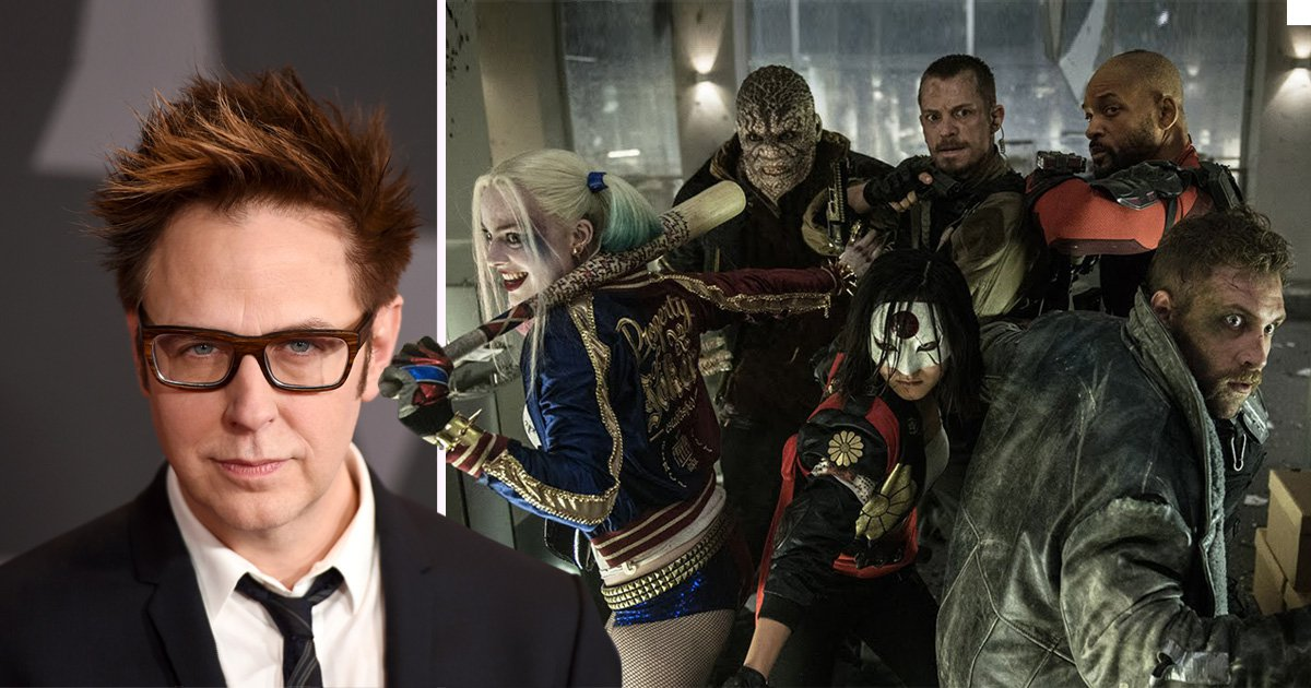 James Gunn is flipping the script and writing a complete reboot for Suicide Squad 2