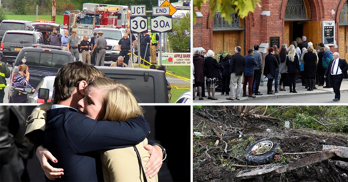Devastated family gather to say goodbye to victims of New York limousine crash
