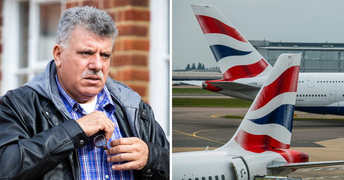 Grandfather-of-25 drank wine on plane before 'getting his penis out and slapping a man'