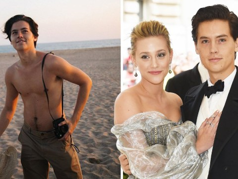 Riverdale's Cole Sprouse flirts with girlfriend Lili Reinhart after she posts shirtless picture of star