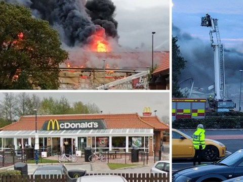 McDonald's staff refused to give free drinks to exhausted firefighters at B&M blaze