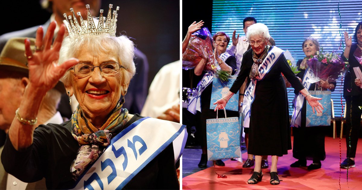 Holocaust survivor beauty pageant is won by 93-year-old great-grandma