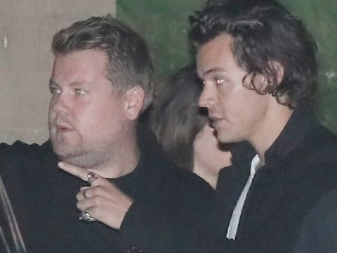Ultimate BFFs Harry Styles and James Corden reunite for fancy Nobu outing