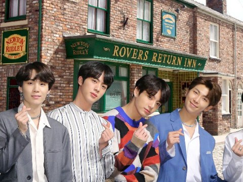 BTS keen to visit Coronation Street – and adorably think Hagrid lives there