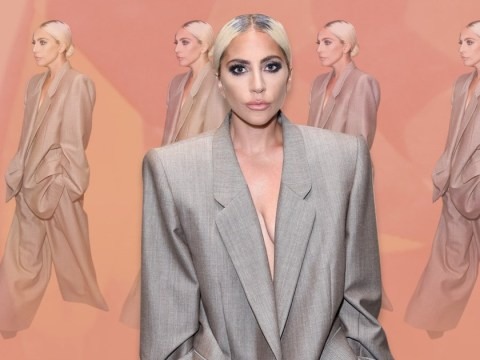 Lady Gaga 'takes the power back' as she chooses oversized suit over gowns in powerful fashion statement