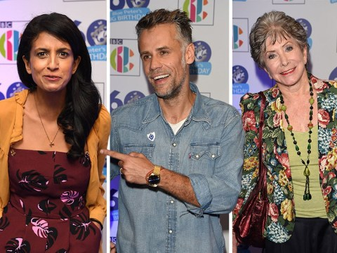 Richard Bacon and Konne Huq lead former Blue Peter presenters as show celebrates 60th anniversary
