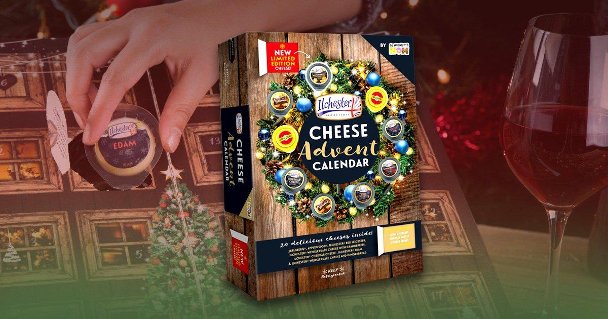 Sainsbury's and Asda launch a cheese-filled advent calendar