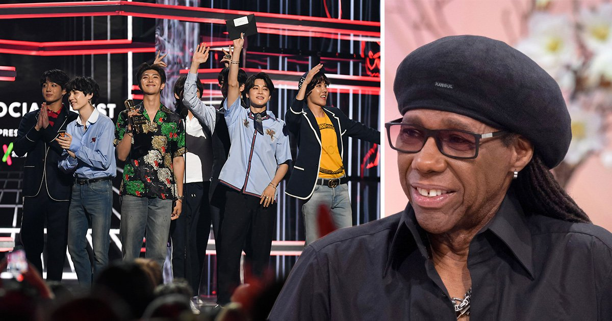 Music legend Nile Rodgers joins BTS Army and teases collab: 'It's not magic, they've worked hard for this'