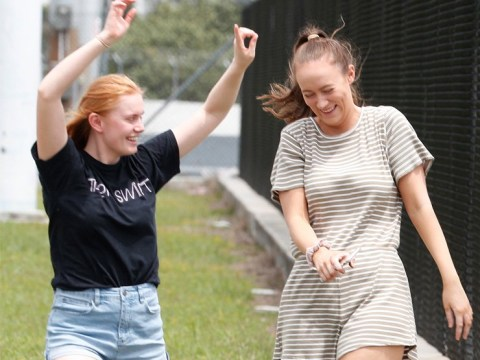 Two fans go wild as Taylor Swift arrives in Australia ahead of Reputation Tour