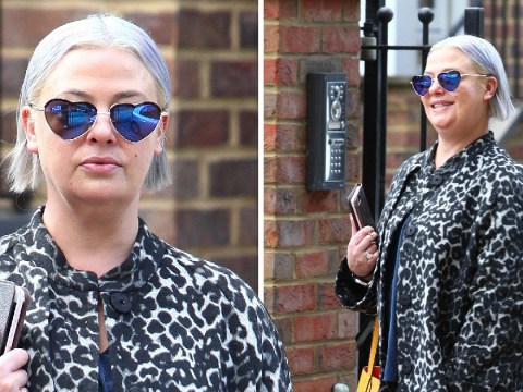 Lisa Armstrong pictured beaming from ear to ear days after divorce from Ant McPartlin