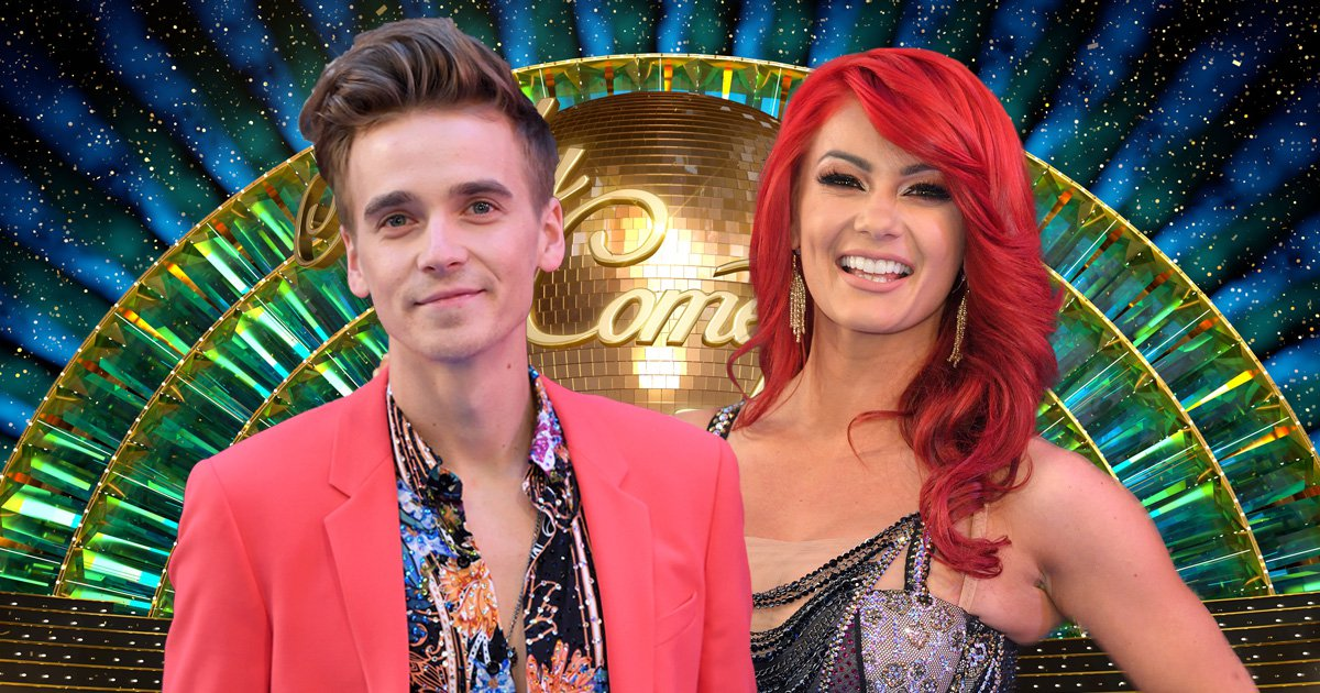 What is the Strictly curse as Joe Sugg's partner Dianne Buswell appears to be latest victim?
