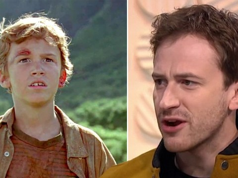 The little boy from Jurassic Park is now a 35-year-old man and just appeared on Lorraine – yes, we've never felt older