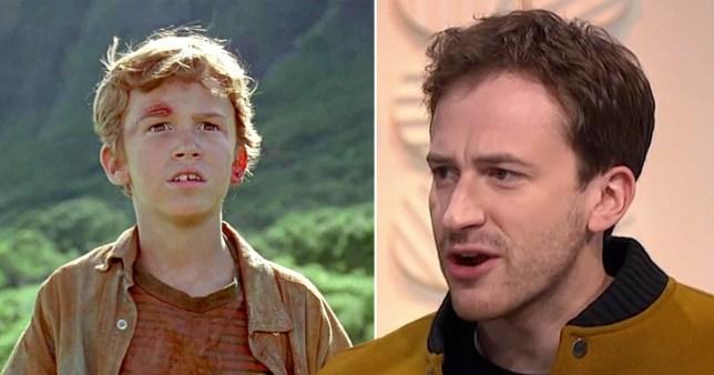 Tim from Jurassic Park on Lorraine