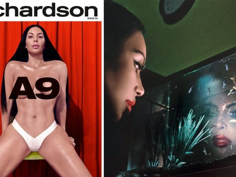 Kim Kardashian really hates clothes right now as she poses naked again for erotica magazine