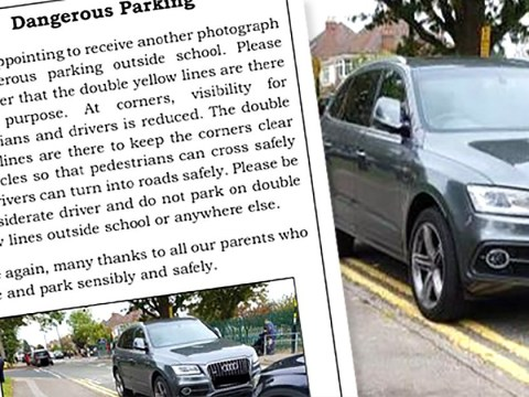 School shames disabled mother for parking on double yellow lines