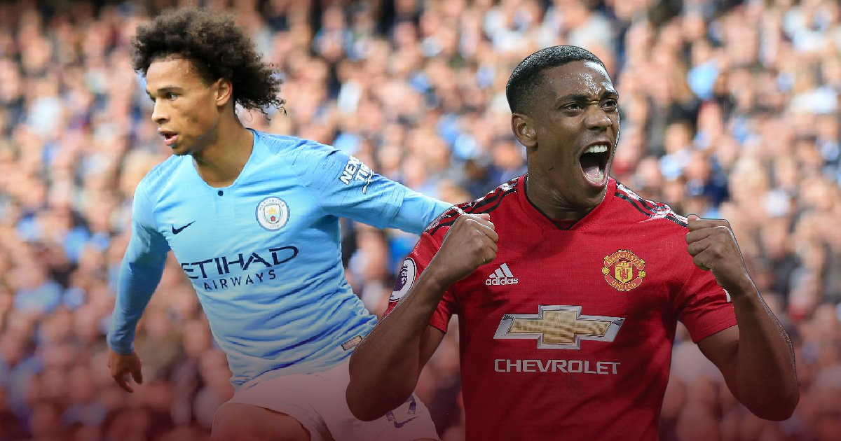 Anthony Martial and Leroy Sane steal the show as Chelsea lose ground on Manchester City and Liverpool