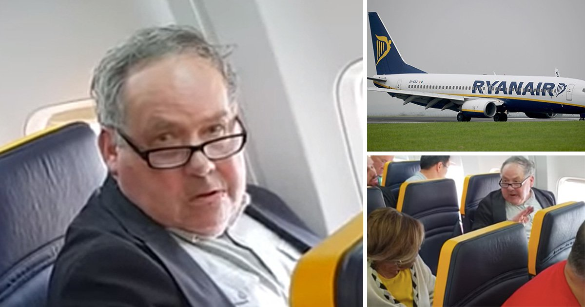 Racist abuse on Ryanair flight being investigated by police in the UK and Spain
