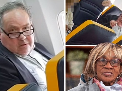 Ryanair passenger who racially abused elderly woman on flight named