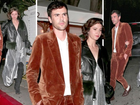 Mary Elizabeth Winstead leaves Ewan McGregor at home as she parties at Hollywood nightspot with pals