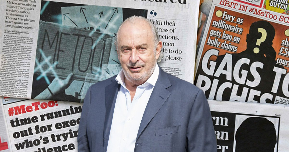 Sir Philip Green responds saying he 'categorically and wholly' denies abuse allegations