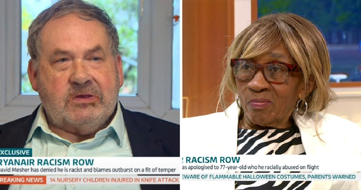 Victim of Ryanair 'racist' says she'll need time to 'forgive and forget'