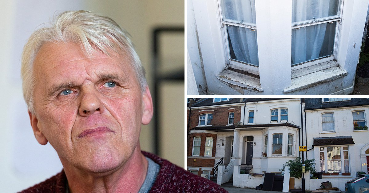 Man lives upstairs for 18 years after raw sewage flooded ground floor