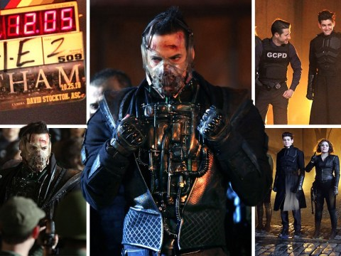 Gotham season 5: Bane's all surrounded during filming of major scene