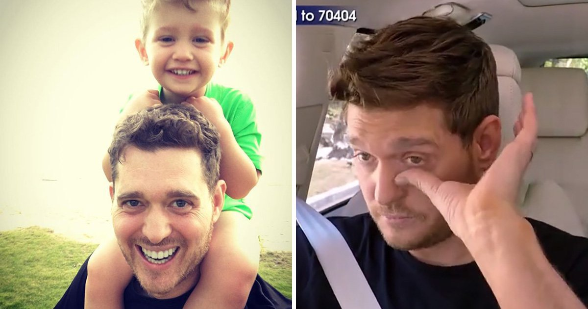 Michael Buble leaves Stand Up To Cancer viewers emotional discussing breakdown following son's cancer battle