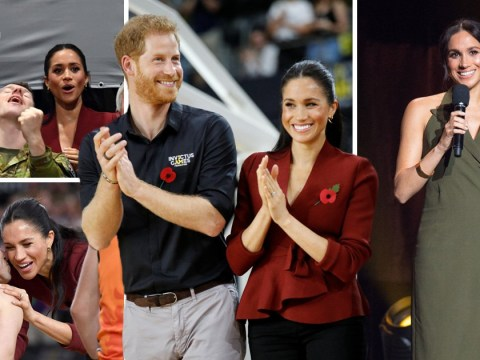 Prince Harry and Meghan pay tribute to 'Invictus family' as Games end in Sydney