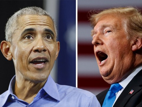 Barack Obama accuses Donald Trump of 'making stuff up'