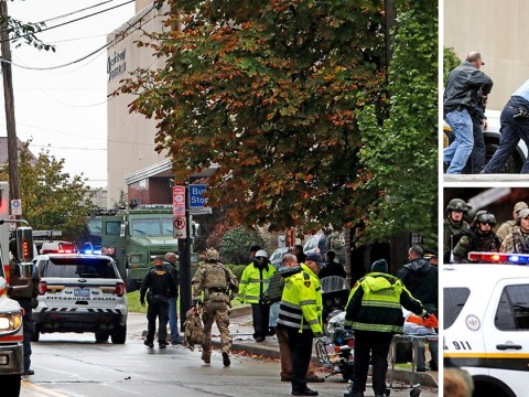11 dead, six injured as gunman opens fire on prayer service at US synagogue