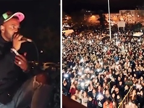 Jason Derulo performs for fans from his balcony after Prague concert cancelled over safety concerns
