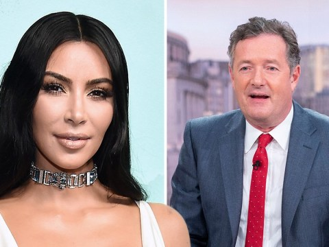 Kim Kardashian called out by Piers Morgan over 'repulsively inappropriate' nude photos