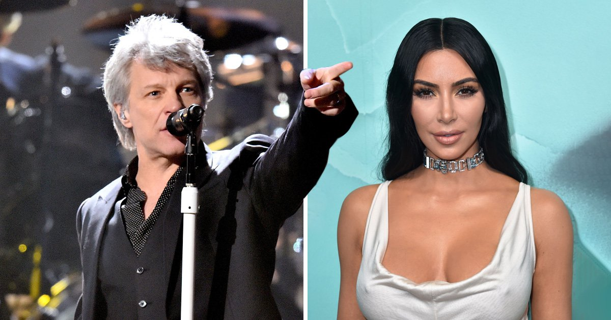 Bon Jovi says Kim Kardashian is only famous for 'making a porno' in scathing attack