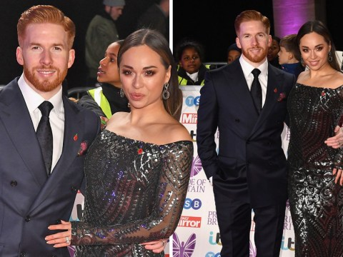 Katya Jones and husband Neil look loved-up at Pride Of Britain Awards as they ignore Seann Walsh kiss drama