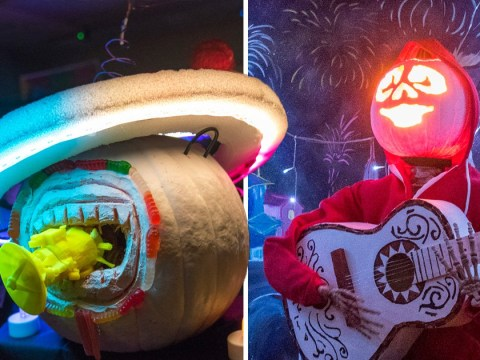 Nasa engineers take Halloween pumpkin-carving to a whole new level