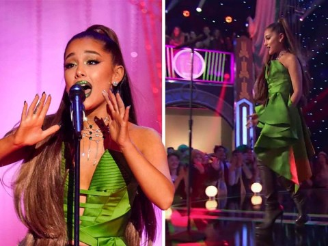 Ariana Grande returns to the stage for first Wicked performance after Pete Davidson heartbreak