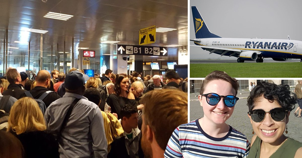 Ryanair cancel flight, tell woman to get a bus back to London, then hang up on her