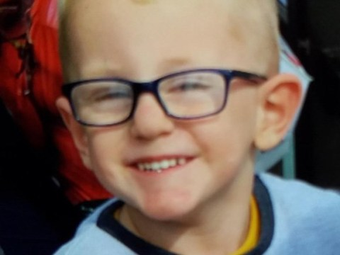 Pictured: Boy, 3, fighting for life after being hit by van in police chase