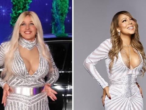 Ellen DeGeneres dressed as Mariah Carey is all we want for Halloween