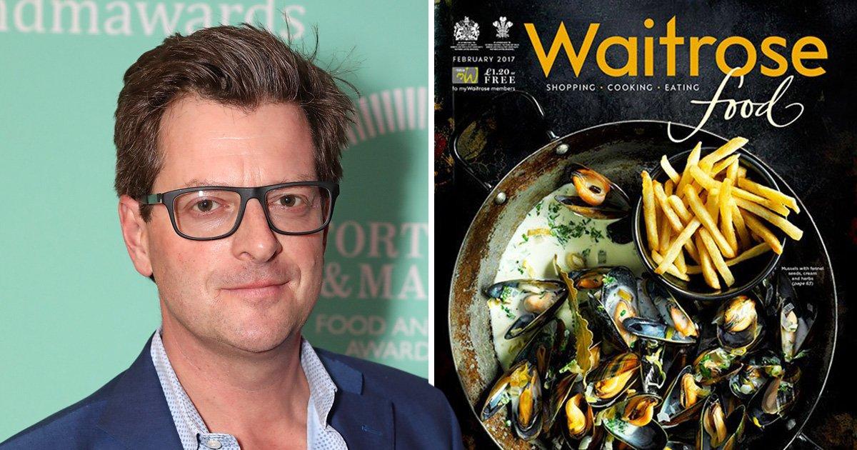 Waitrose magazine editor quits after letter about 'killing vegans'