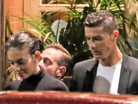 Cristiano Ronaldo keeps his cool as Georgina Rodriguez flashes a grin amid rape allegation