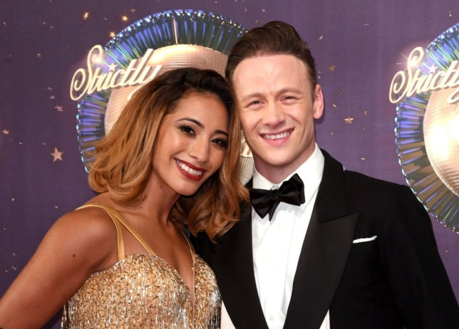 Mandatory Credit: Photo by David Fisher/REX/Shutterstock (9028516li) Karen Clifton and Kevin Clifton 'Strictly Come Dancing' launch, BBC Broadcasting House, London, UK - 28 Aug 2017